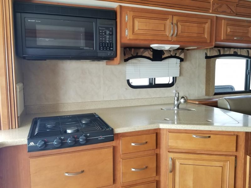 Vacationer Kitchen (Stove & Microwave)