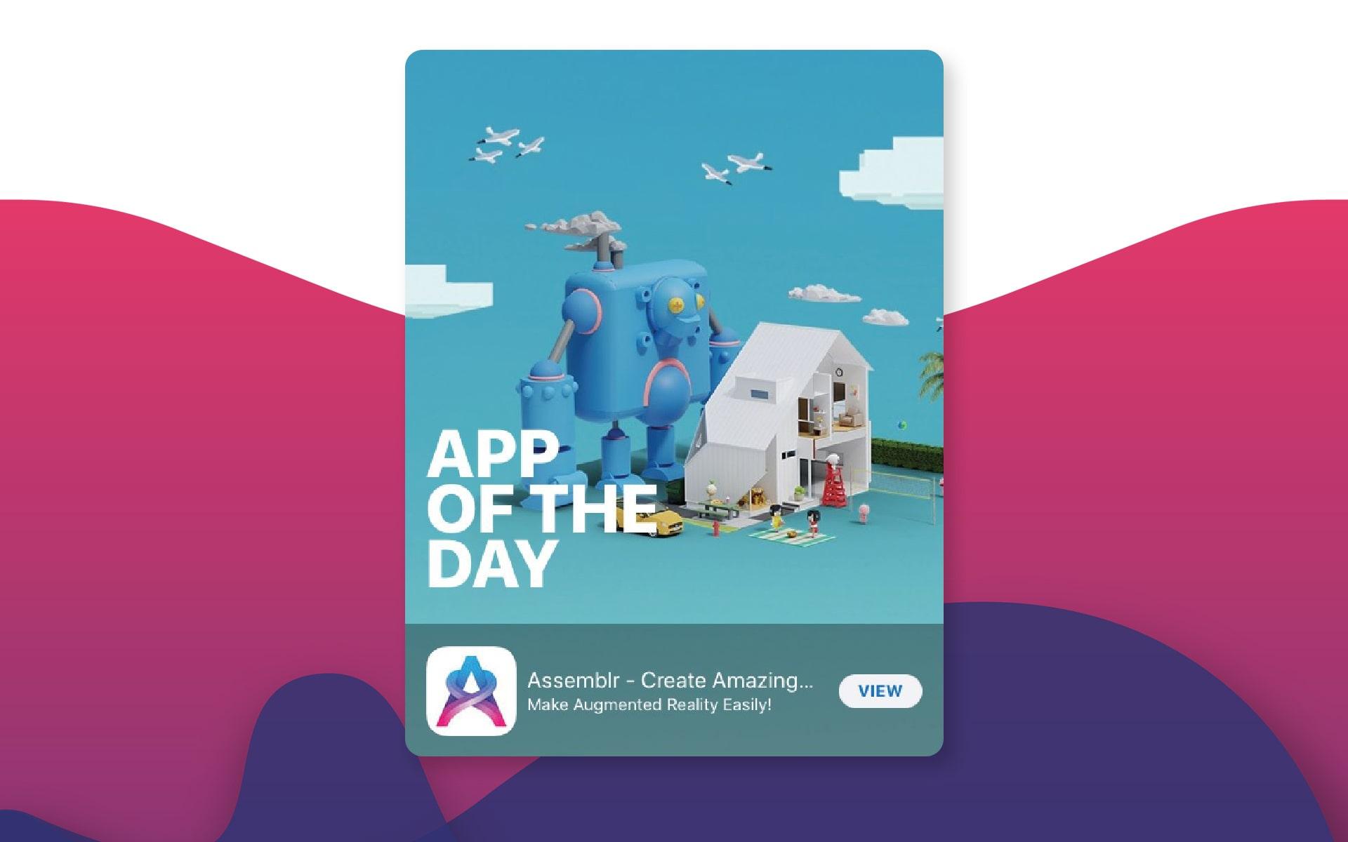 Apple Appstore - Assemblr Augmented reality Platform