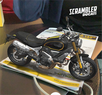 Ducati - Augmented reality automotive