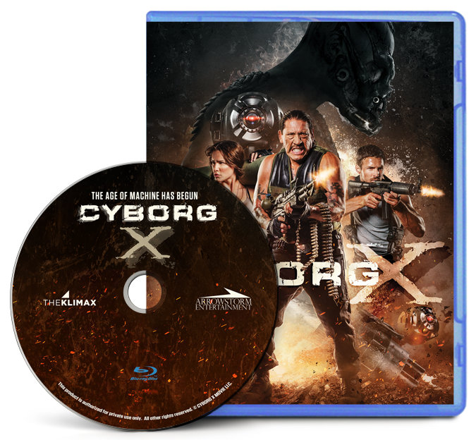 Retail Ready Blu-ray disc with case and wrap