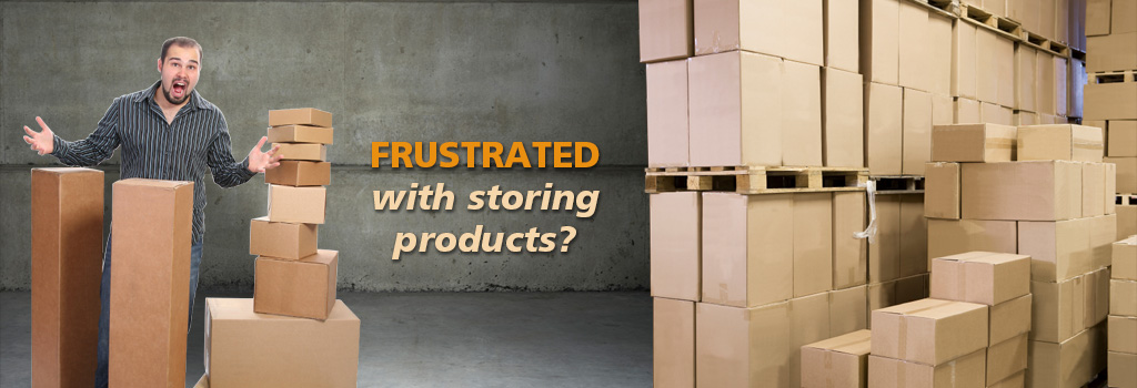 Frustrated with storing and shipping your products? QuickTurn can help!