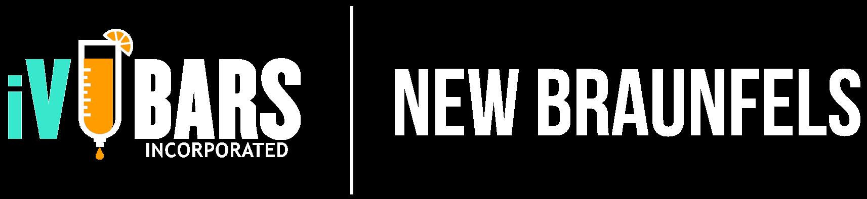 Main iV Bars New Braunfels logo white