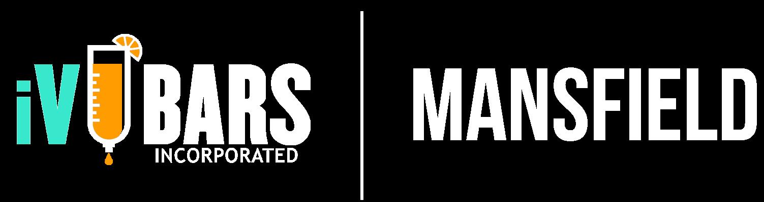 Main iV Bars Mansfield Logo white