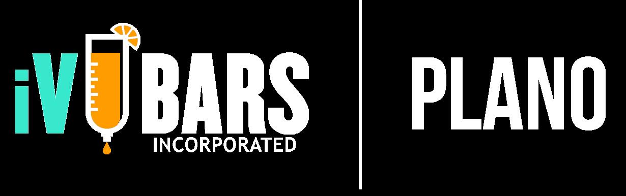Main iV Bars Plano Texas logo white