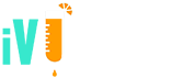 White iV Bars Logo