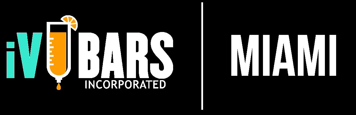 logo of iV bars Miami Florida