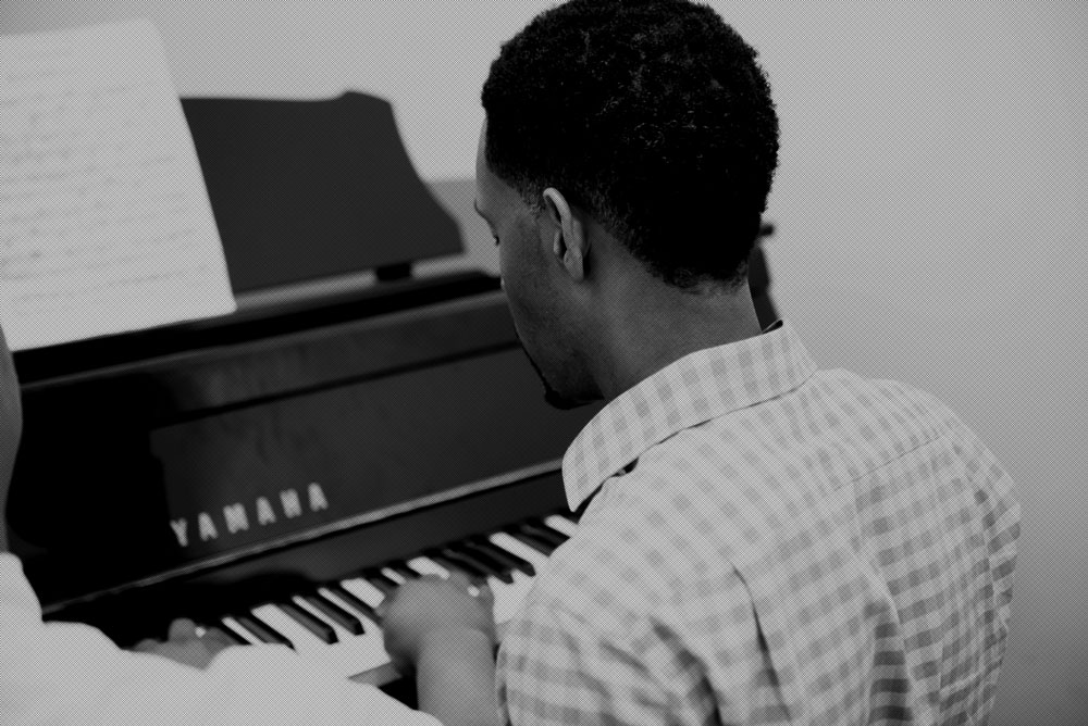 Piano lessons at Joe's Academy of Music, New York
