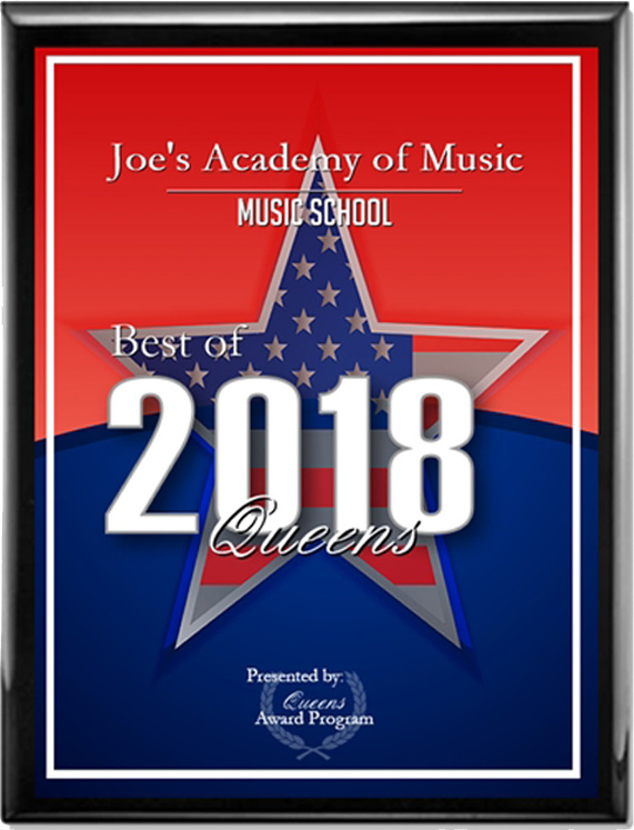 Joe's Academy of Music voted Best Music School in Queens