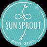 Sun Sprout Cloth Diaper Service Logo