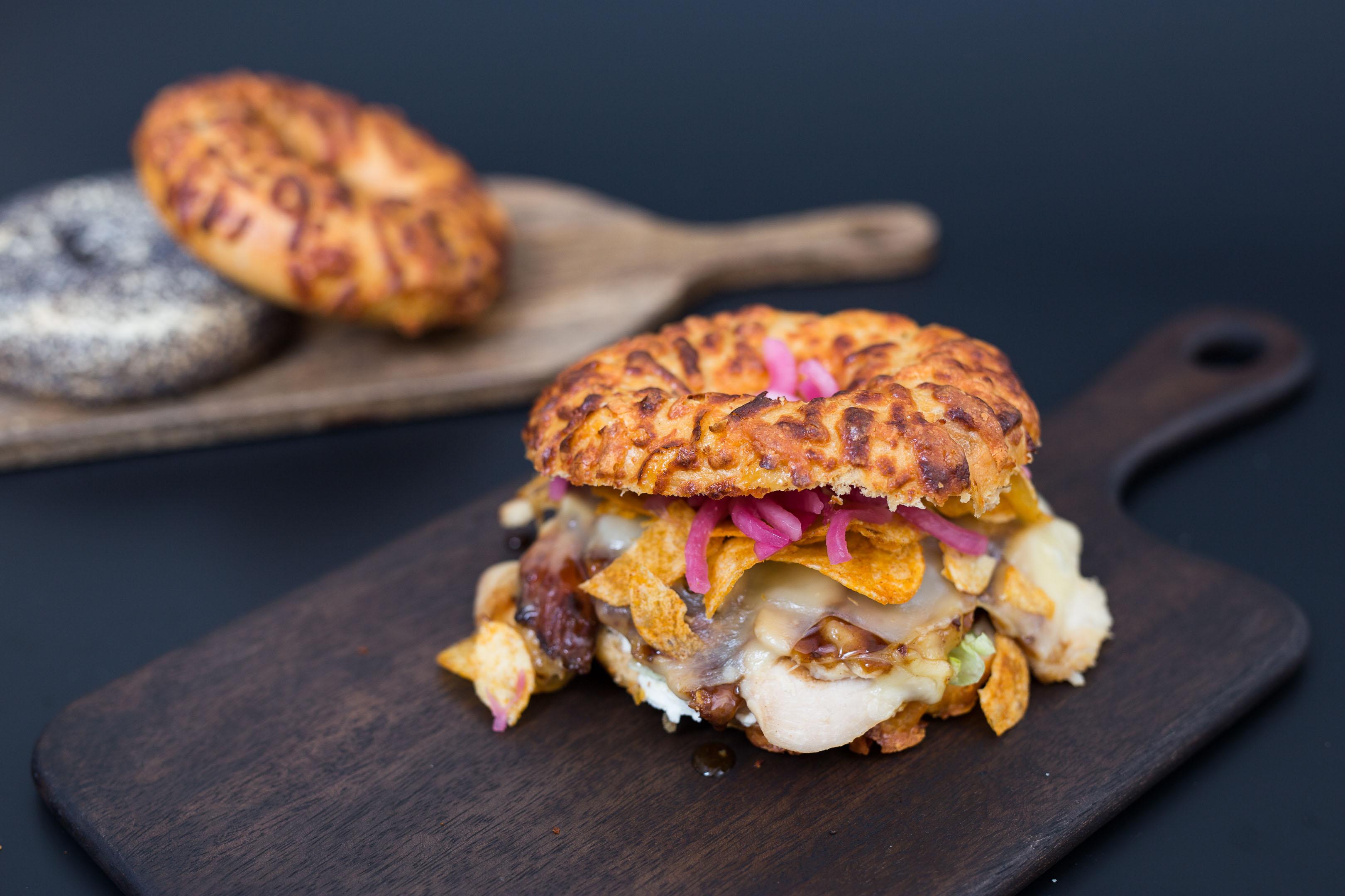 Matfoto bagel burgers