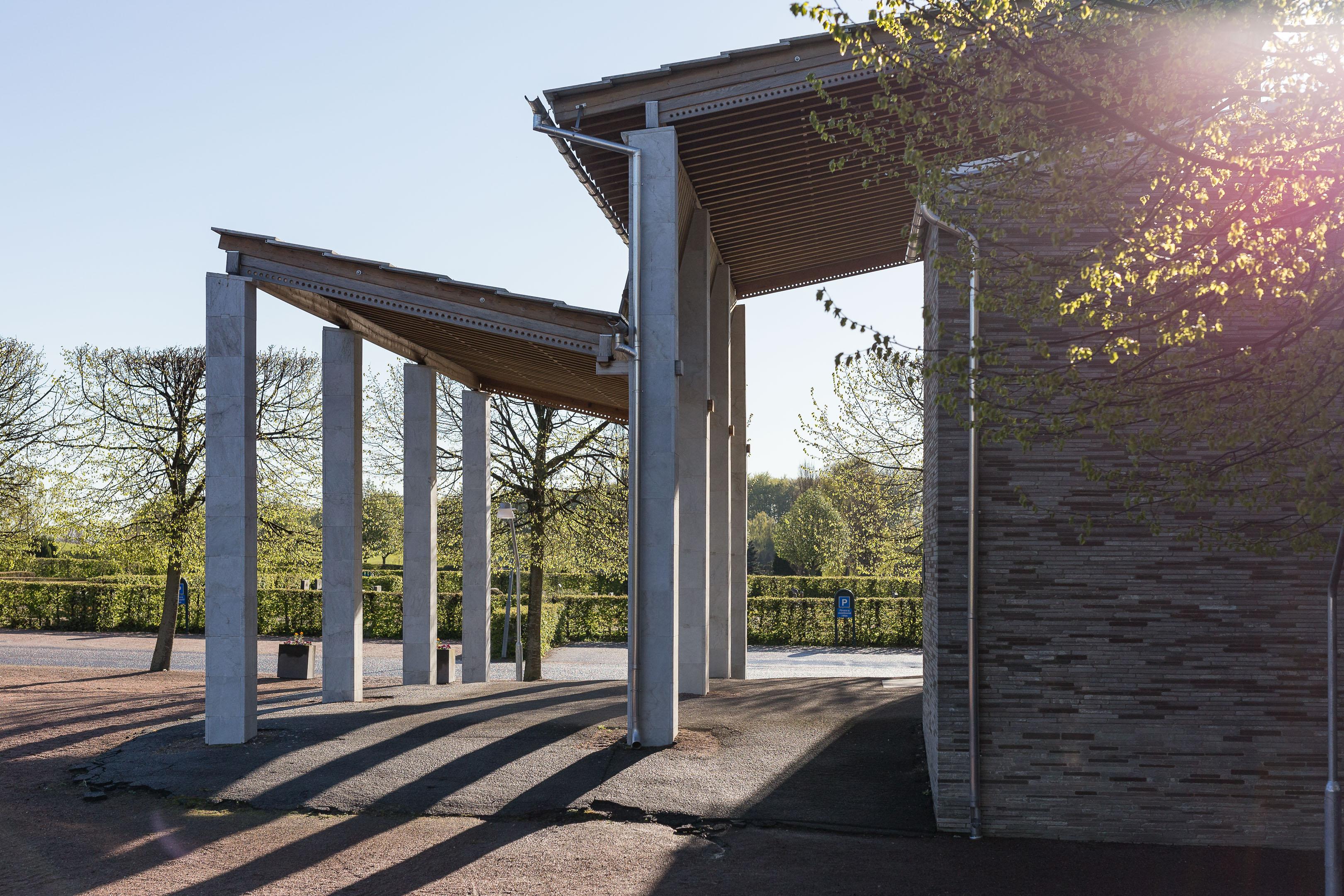 Arkitekturfotografering östra kyrkogården