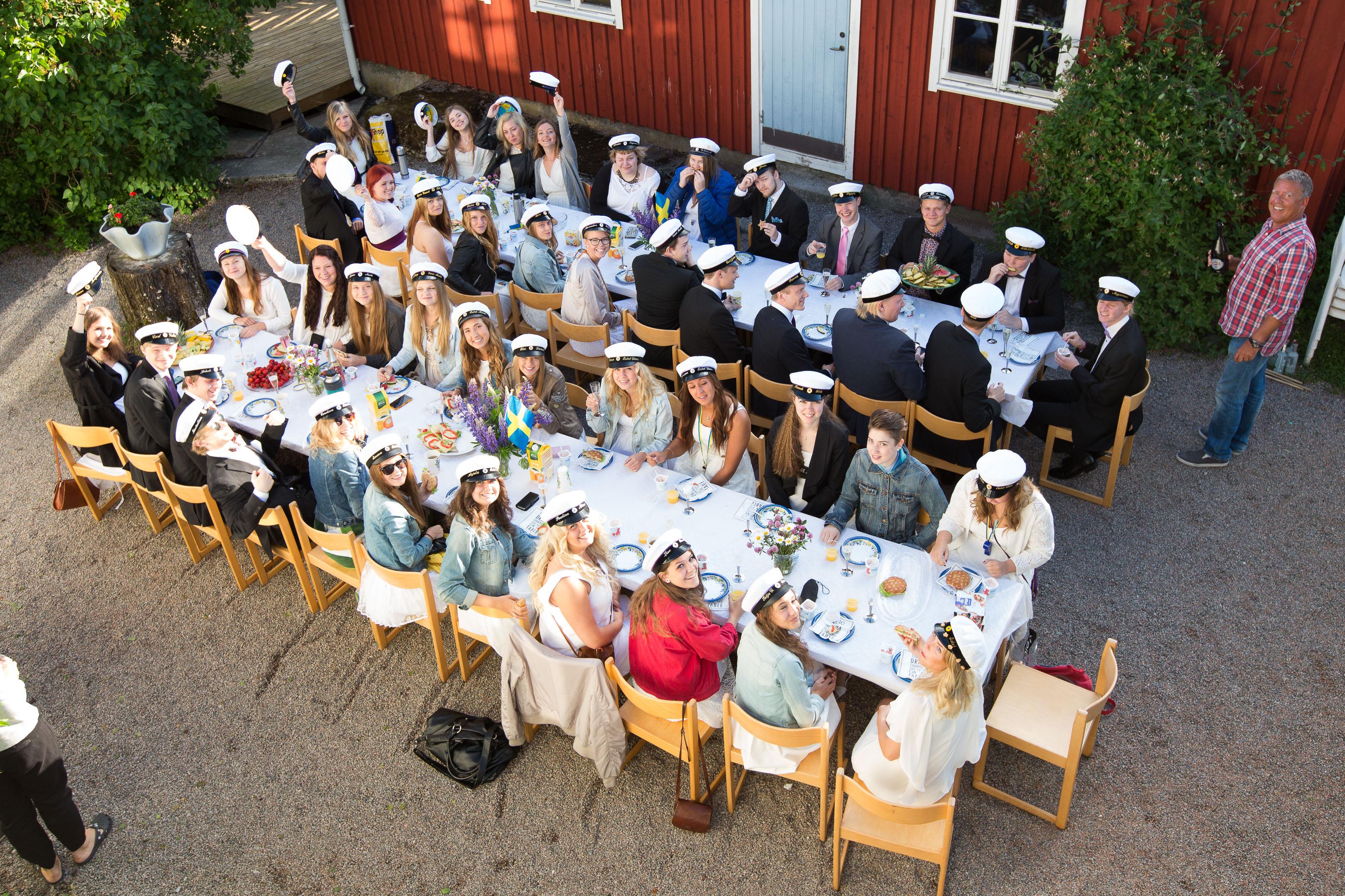 Student gruppfoto