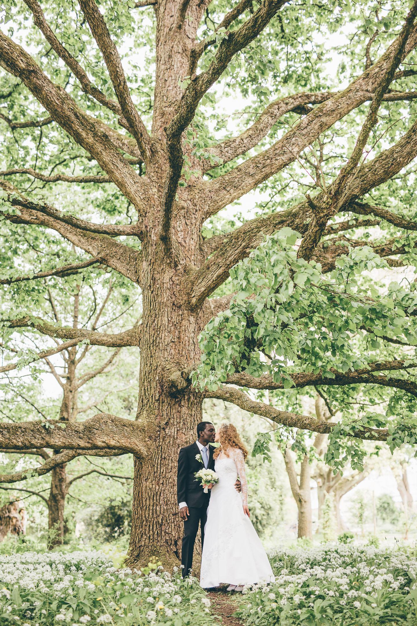 Bröllopsfoto i Lund