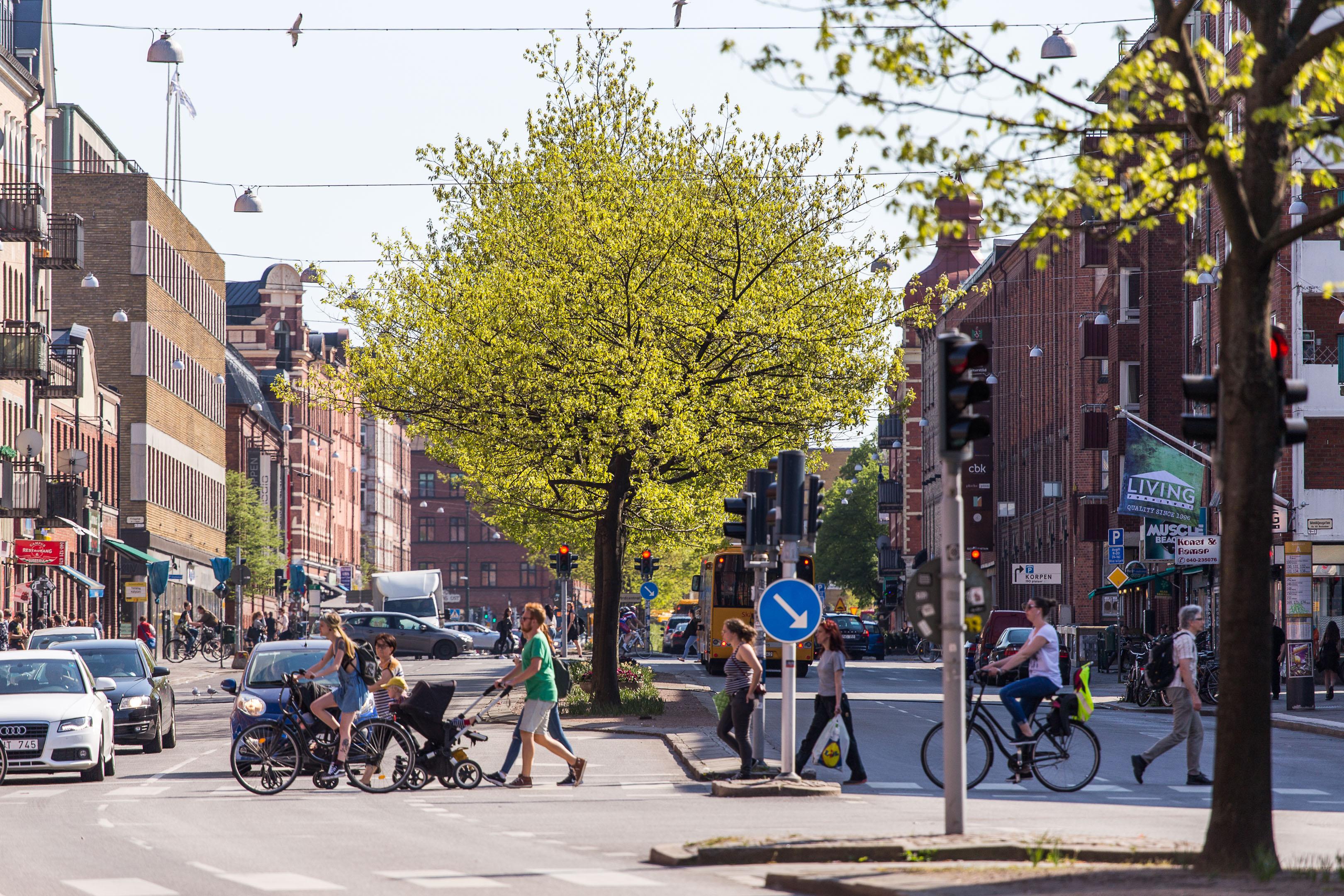 Fotografera stadslivet i Malmö