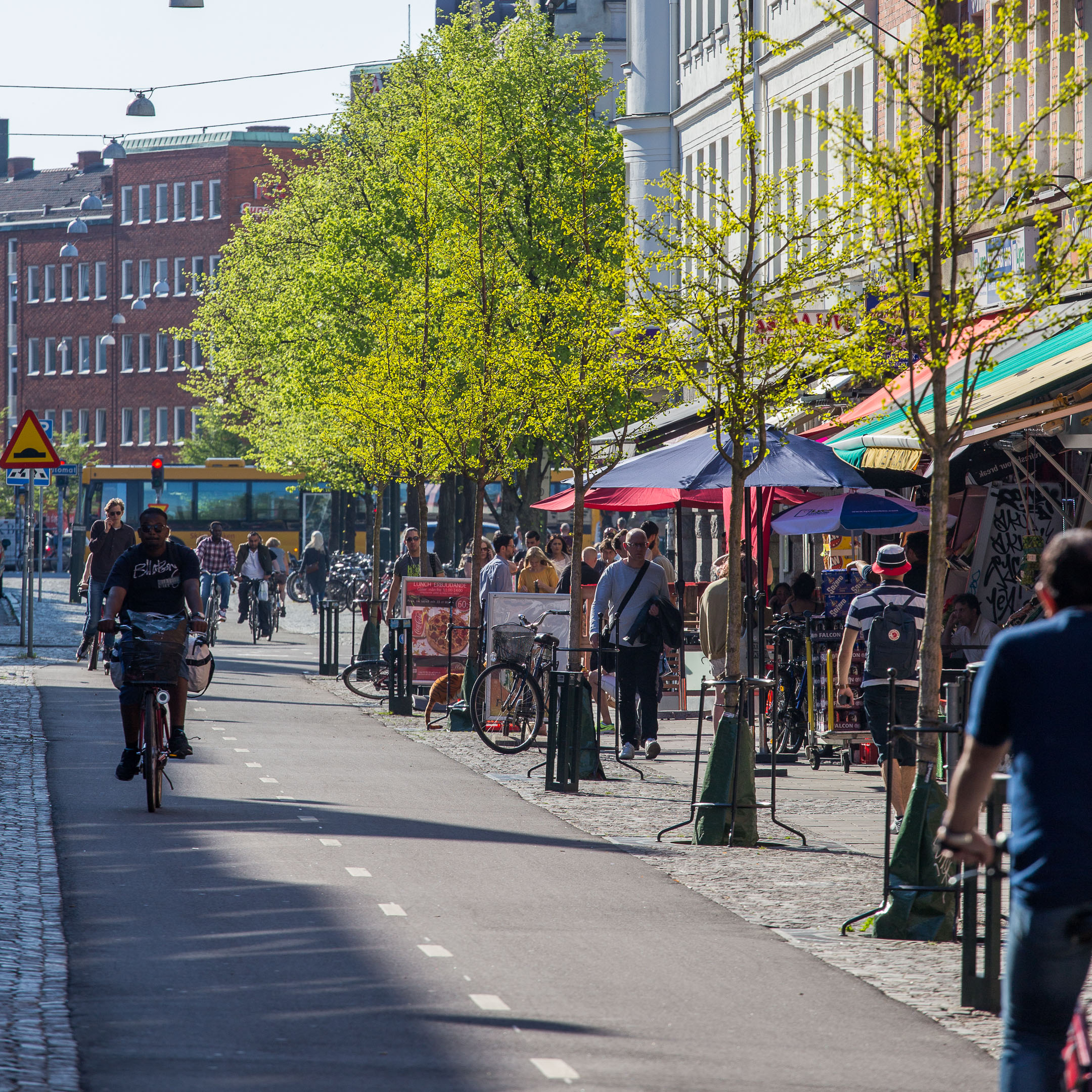 Stadsrumsfotografering vid Möllan i Malmö