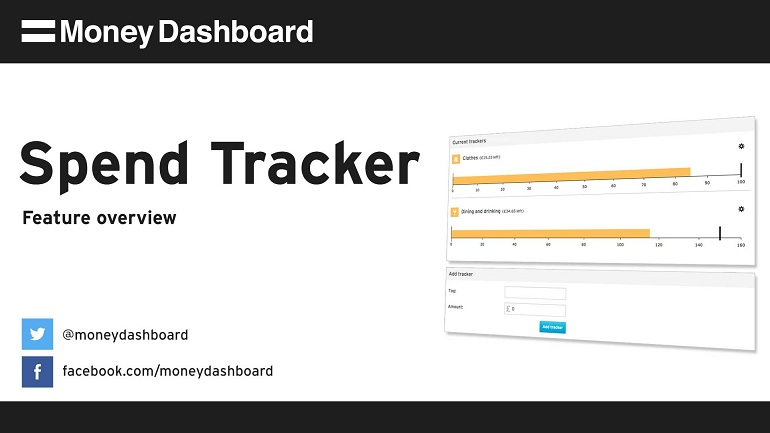 using money dashboard s spend tracker