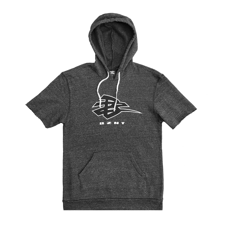 BZNY Short Sleeve Hoodie - Small