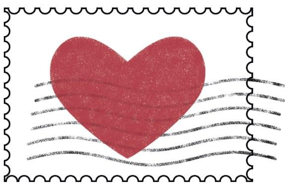 Heart Pocket Love Letters