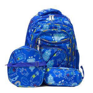 mochila menino robo escolar