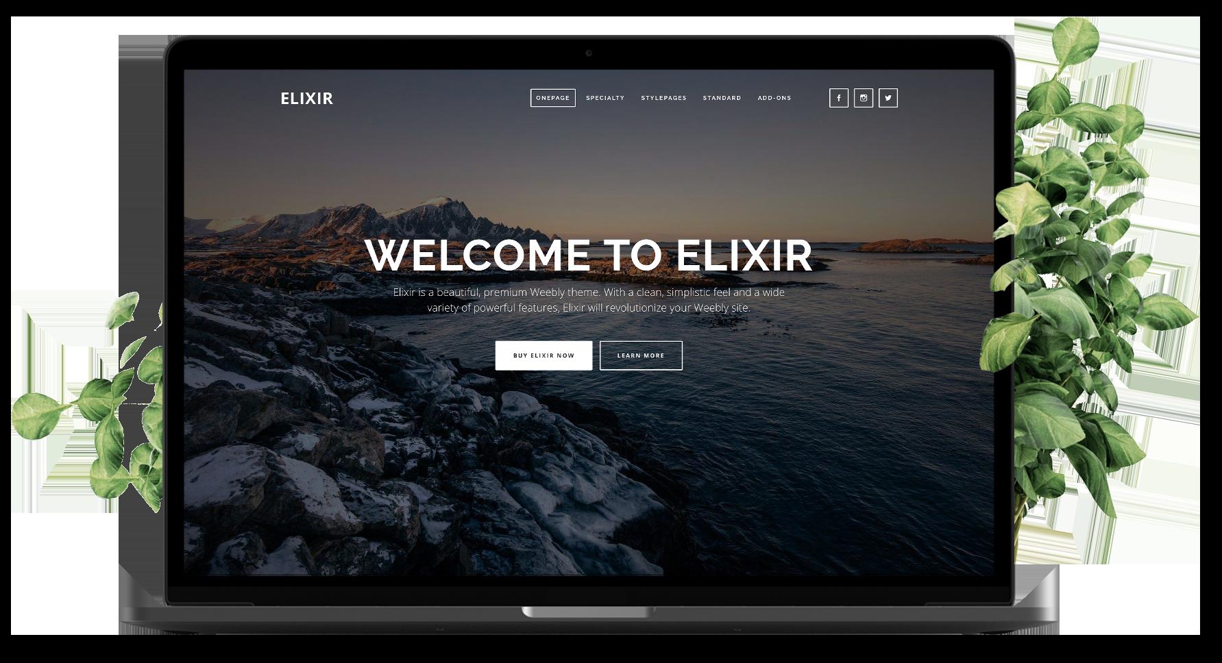 Elixir laptop image