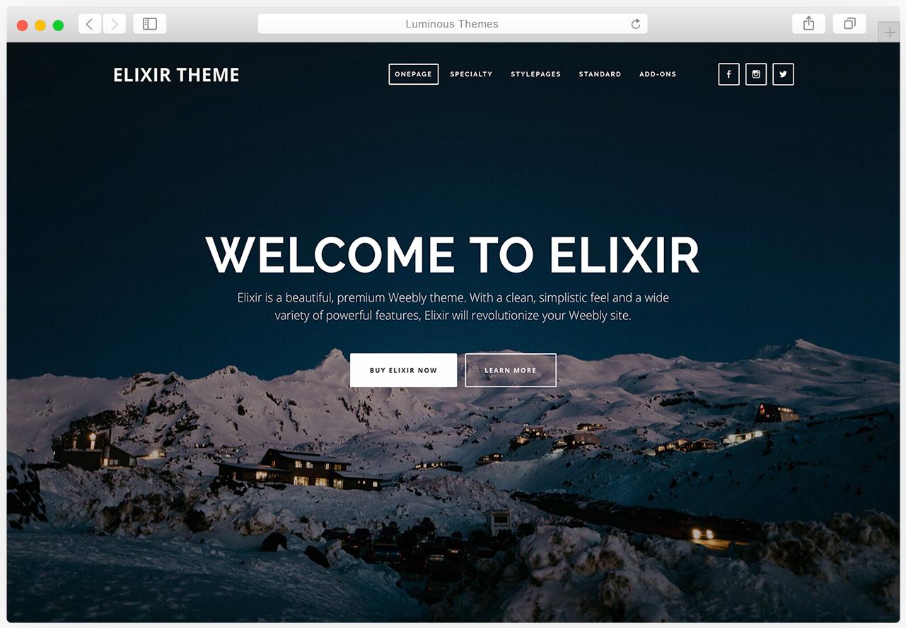 Elixir theme