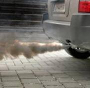 Smoking Car Exhaust