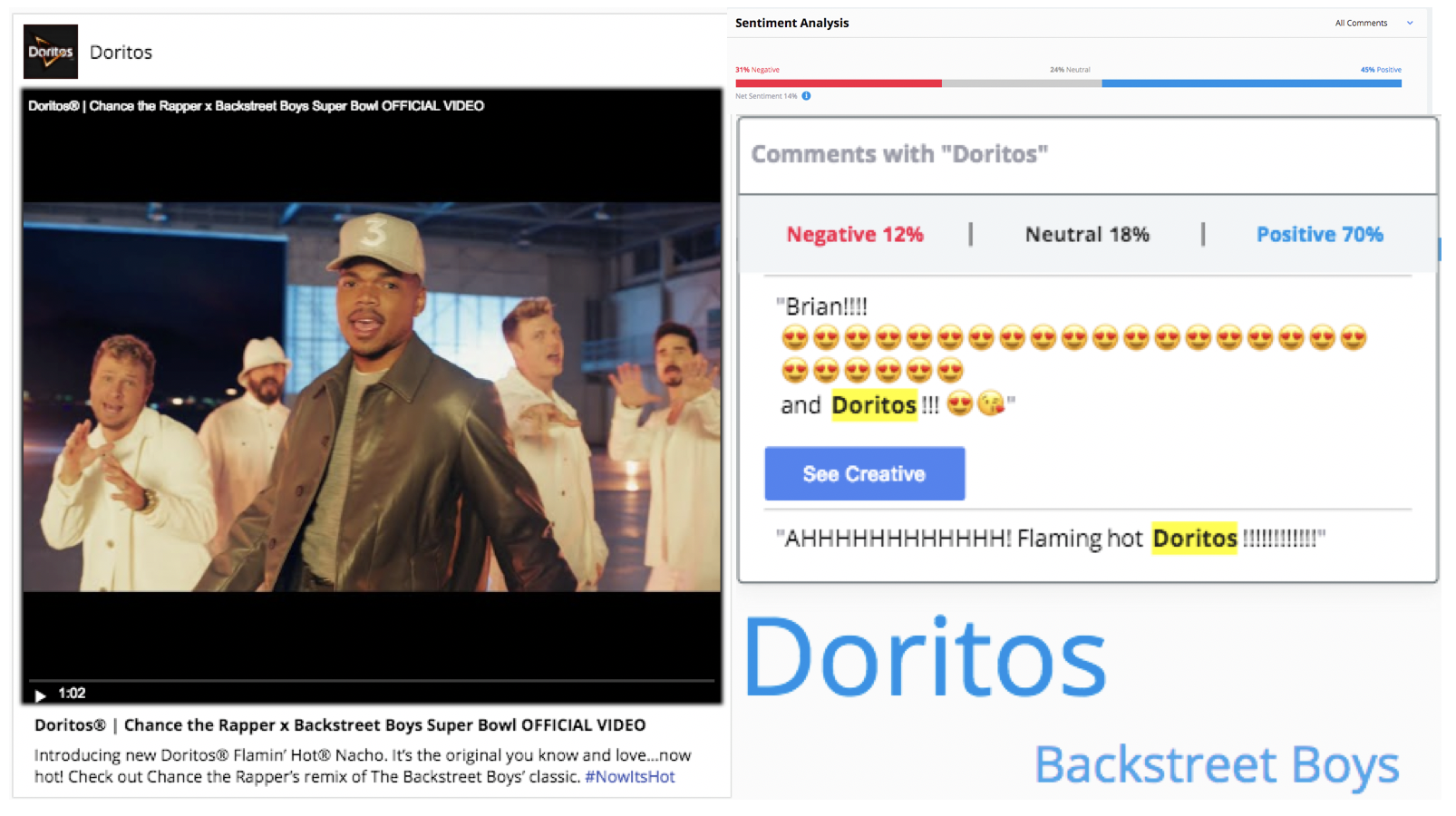 Doritos Super Bowl Ad Backstreett Boys Dark Marketing
