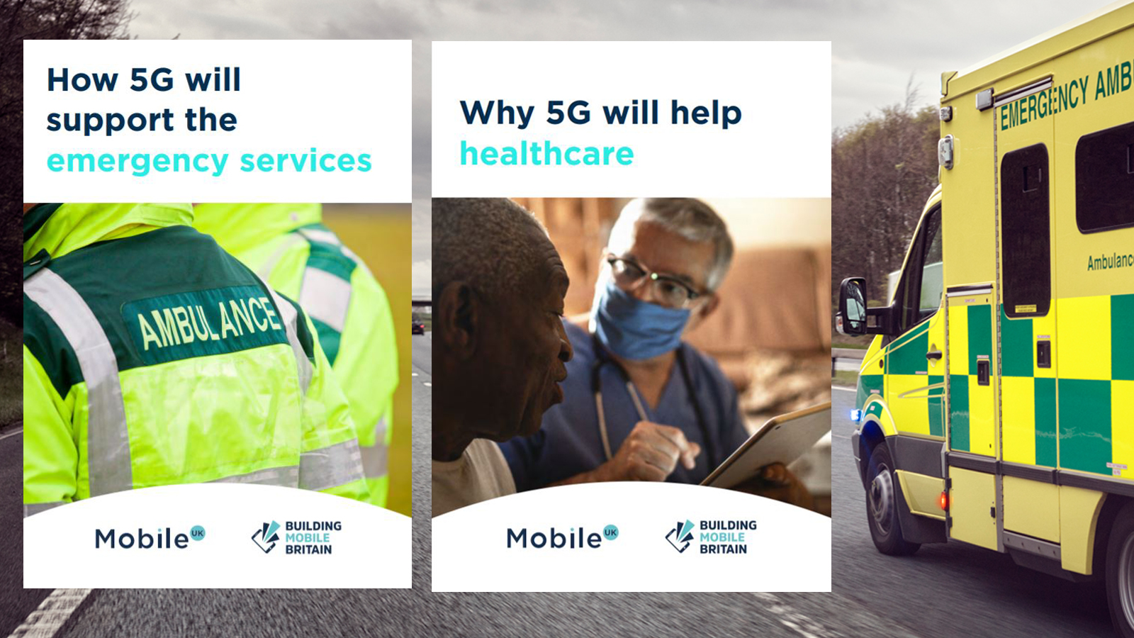 Emergency Services, Health, Healthcare, 5G, Mobile. #5GCheckTheFacts
