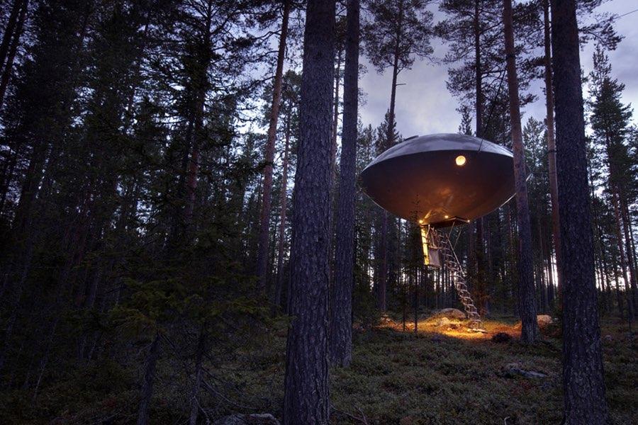 Glamping Tree Hotel Svezia