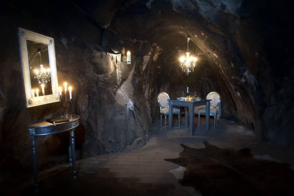 The mine suite