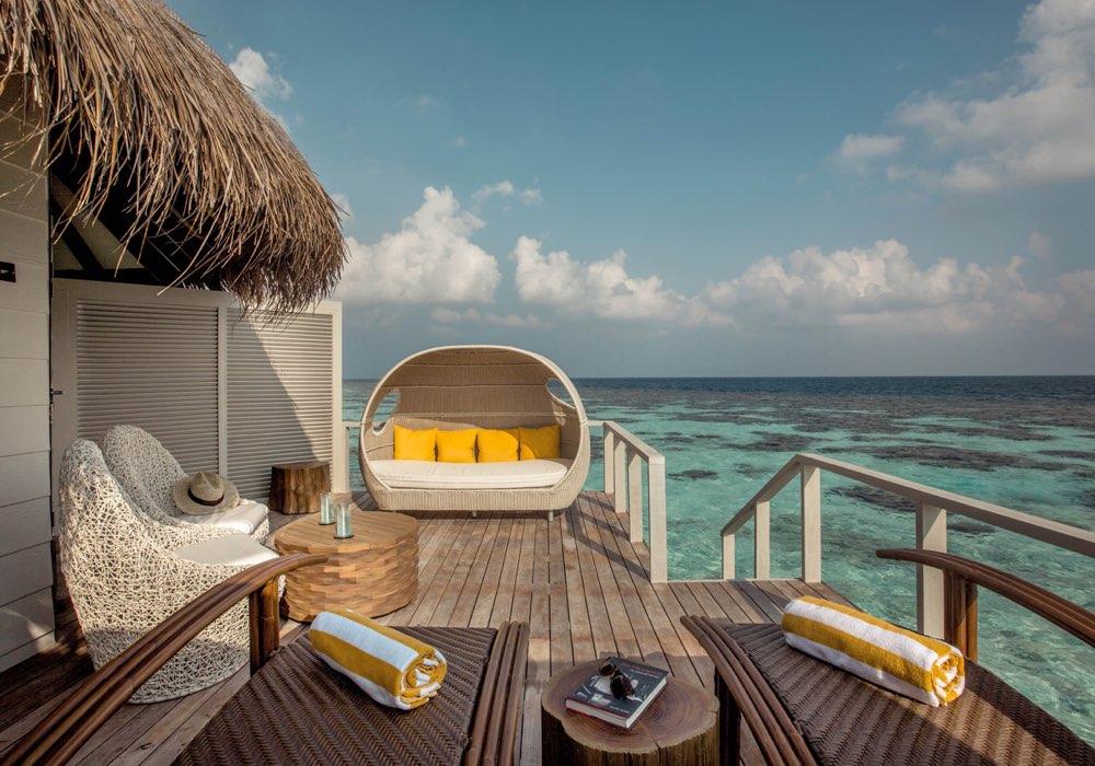Drift Thelu Veliga Resort Atollo Ari Sud water villa