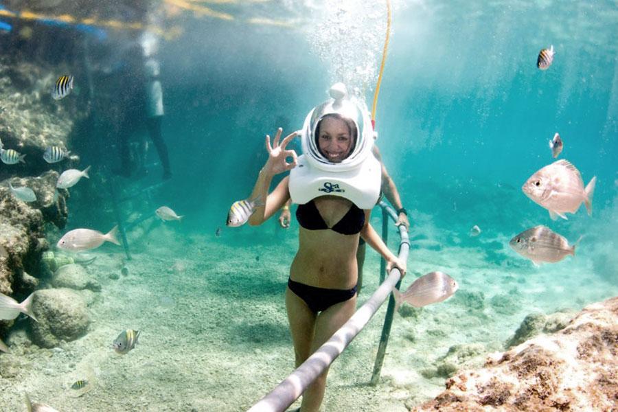 Viaggio di nozze ad Aruba Sea Trek