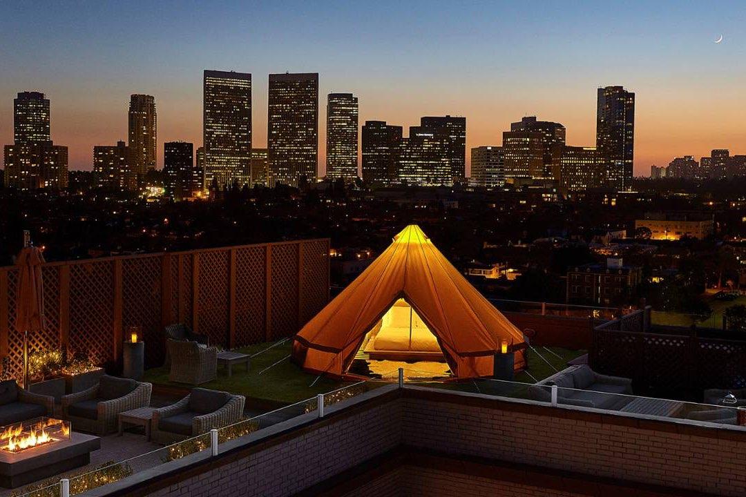 Glamping urbano Four Season Resort Los Angeles