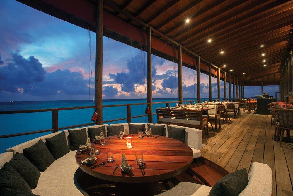 Ozen By Atmosphere at Maadhoo all inclusive Maldive ristorante