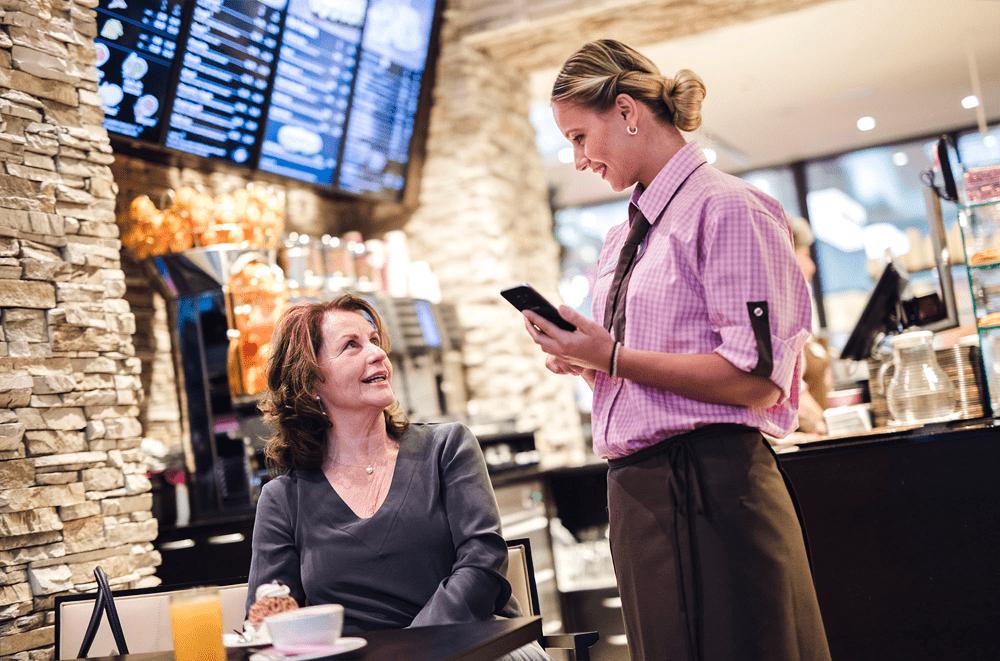 Neue Funktionen mobileWaiter Bestellterminal für Café