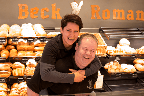 Gold für Beck Roman!