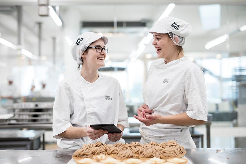 Bäckerei Rezept Tablet App für die Produktion