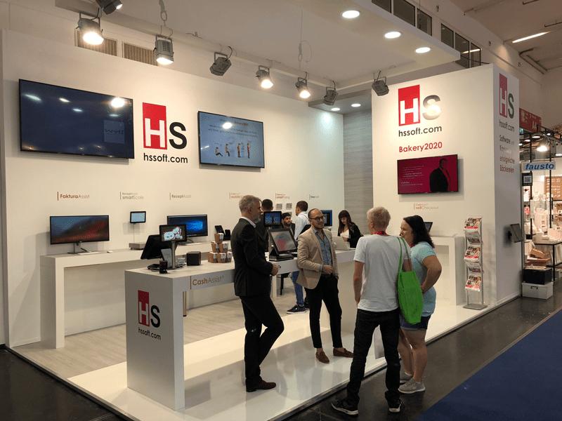 HS-Soft Erfolgreiche Messetage an der IBA München