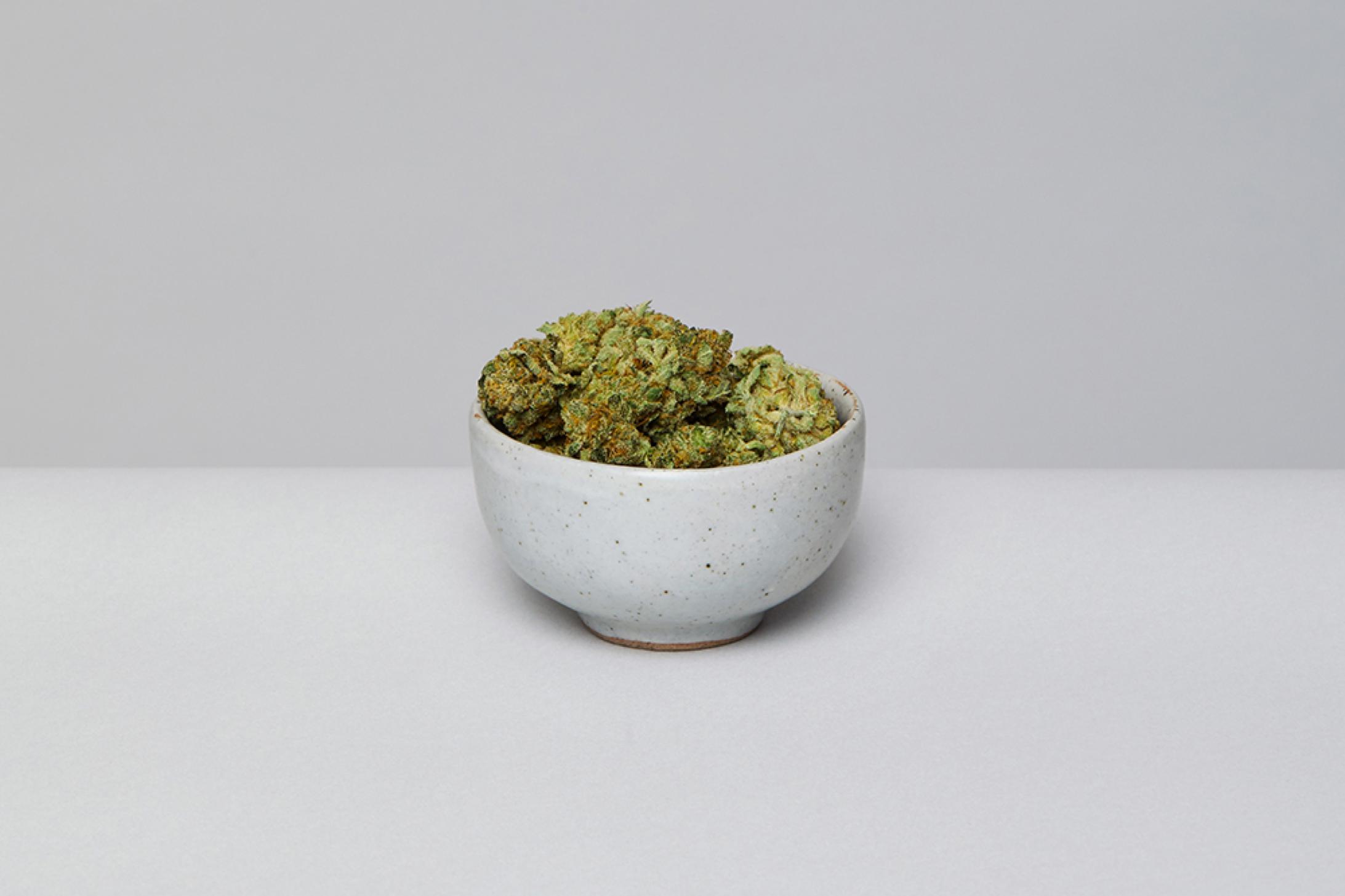 premium, hand-trimmed, non-irradiated cannabis