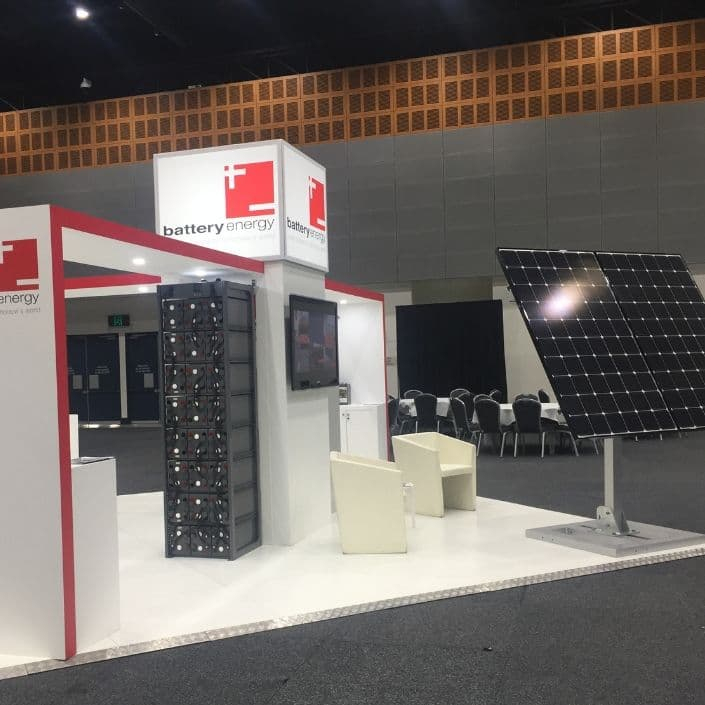 Battery Energy stand at Intelec 2017