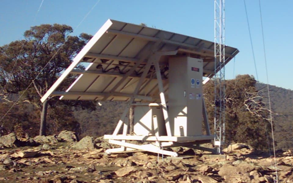 Solar Hybrid Solution for communications system for Department of Defence
