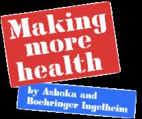 Logo Making more health