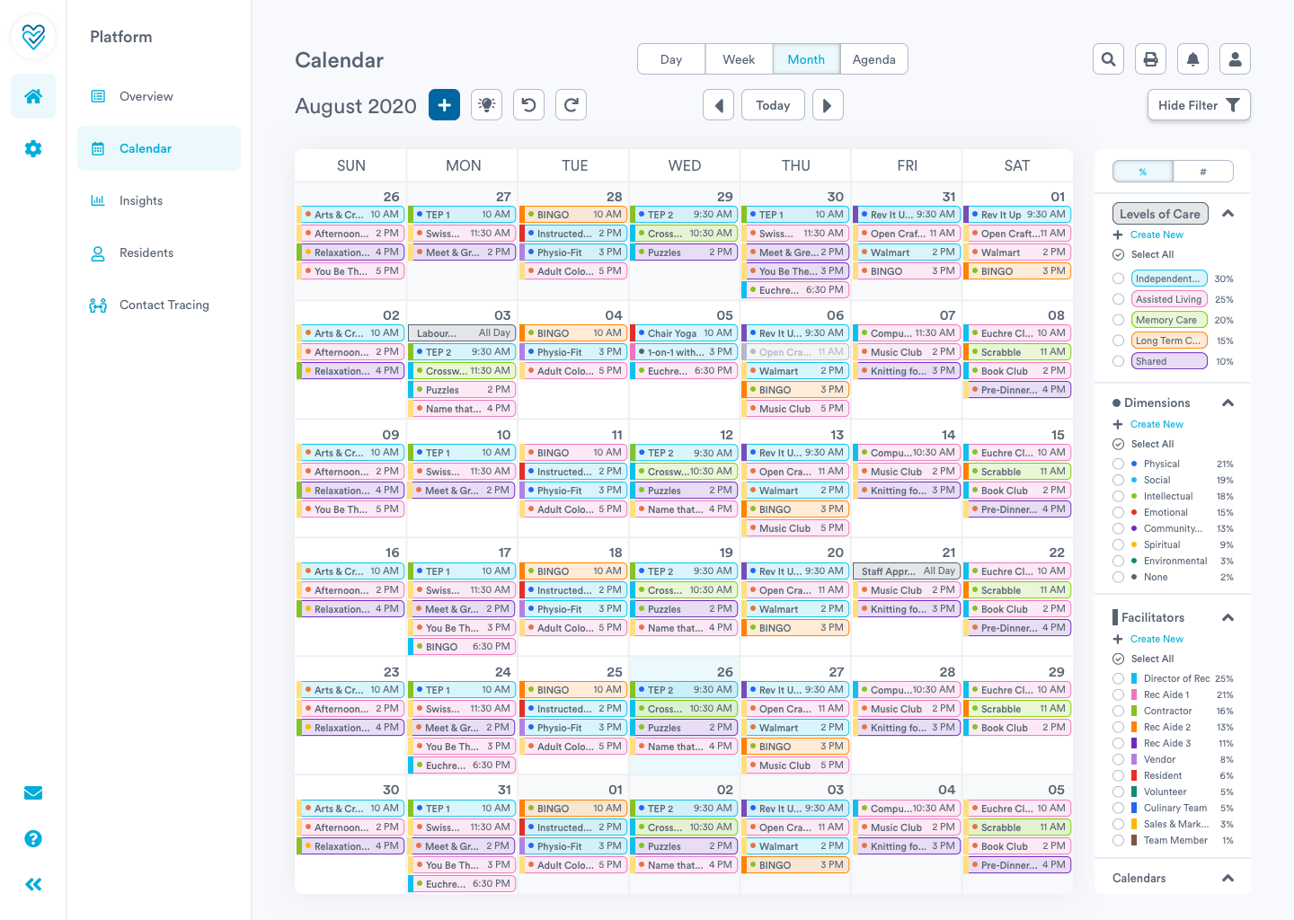 Plan and schedule with Welbi