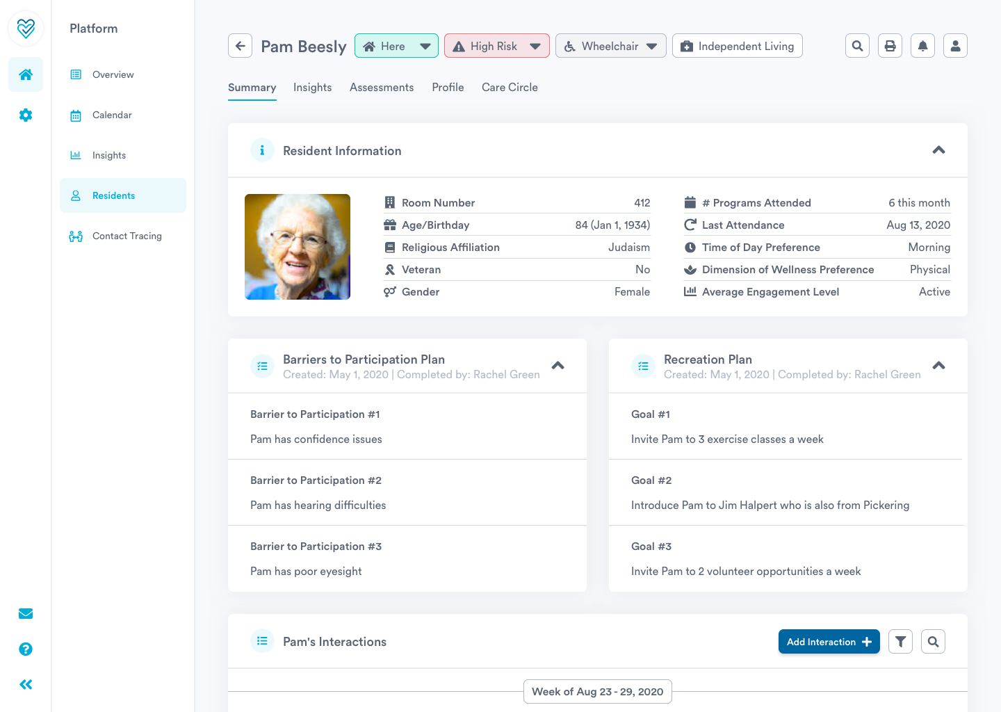 Optimize your resident profiles with Welbi