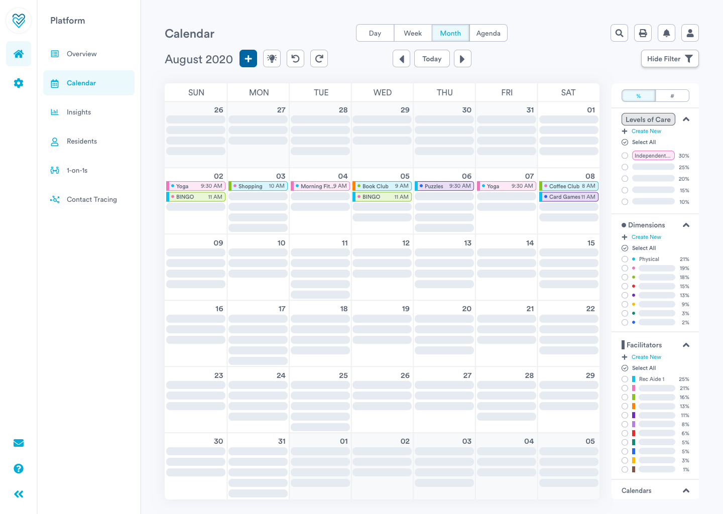 Organize your day with Welbi