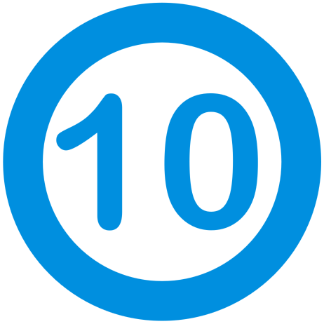 Rating icon 10 out of 10
