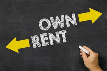 Own vs rent