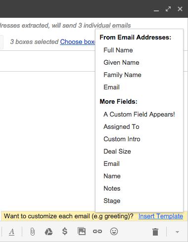 Mail merge streak crm for gmail custom inserts m4hsunfo