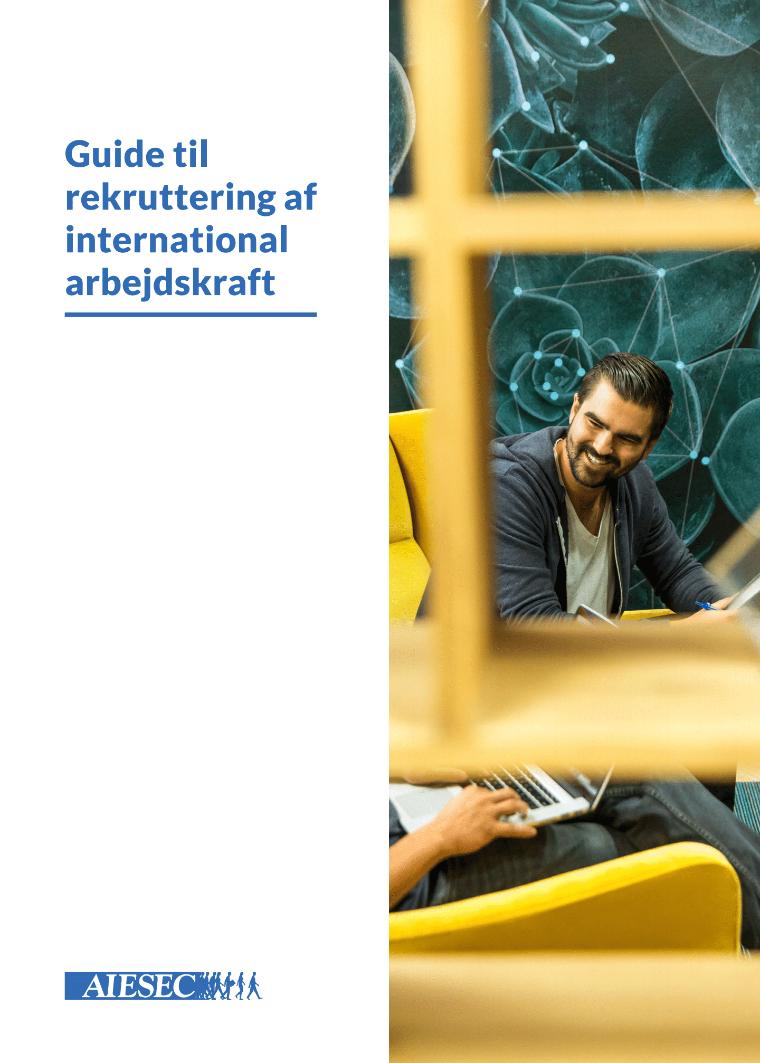 guide til rekruttering af international arbejdskraft