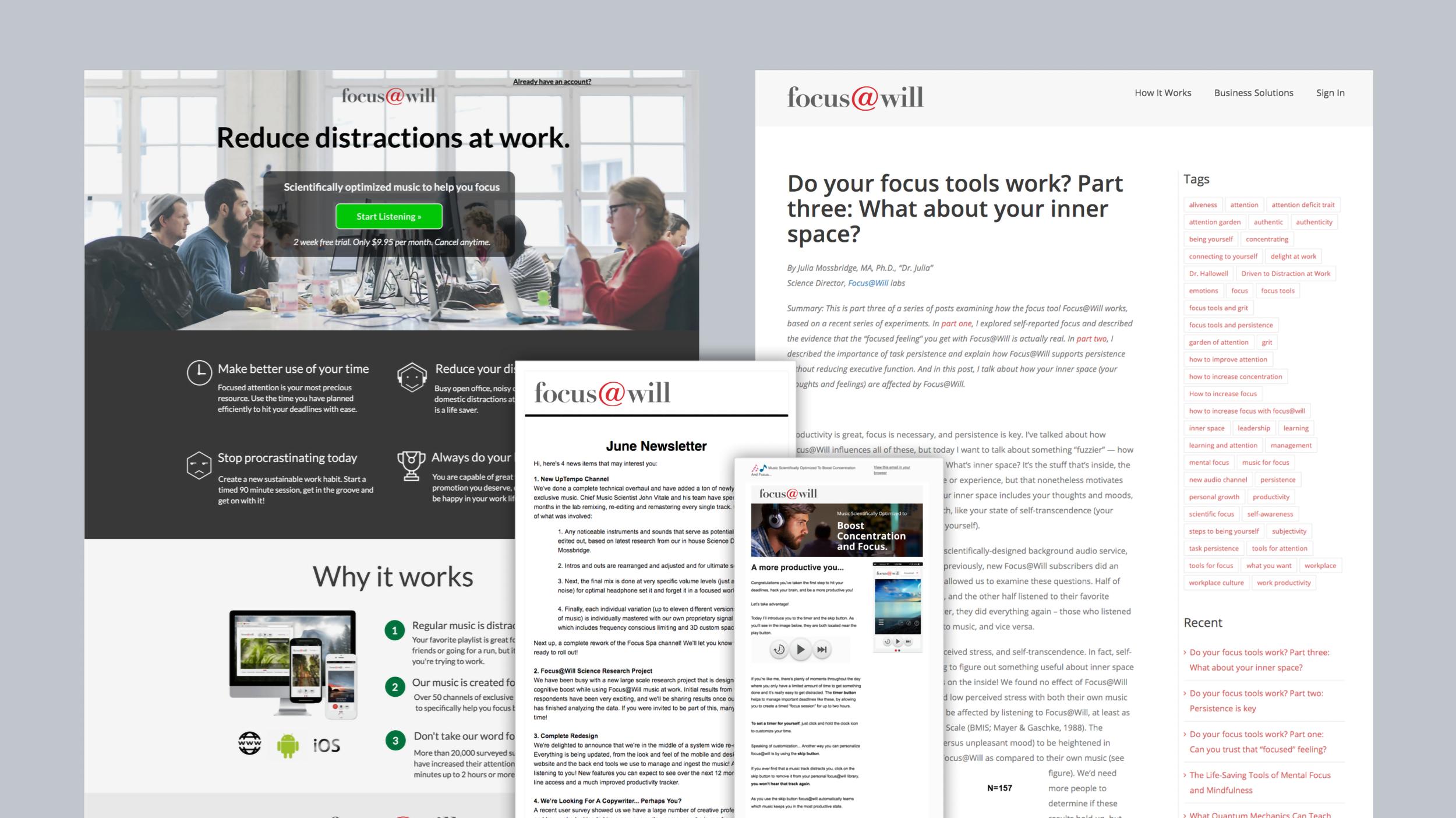 Focus @ Will Labs : Lead-Gen Marketing